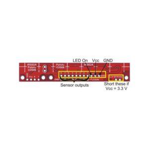 Sensor de reflexion 8 juegos analogo QTR-8A (960)