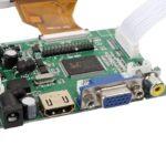 Modulo LCD 7″ TFT Táctil 1080P HDMI + VGA + 2AV para Raspberry Pi